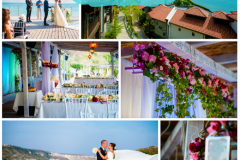 Romantic wedding by the beach