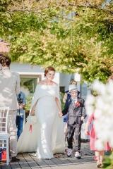 българска булка, булка по пътя към олтара, декорация на сватбена агенция Приказен ден, сватбен агент Мариела Уилсън