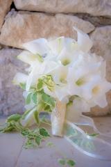 елегантен булчински букет, булчински букет от кала лилия, декорация на сватбена агенция Приказен ден, сватбен агент Мариела Уилсън