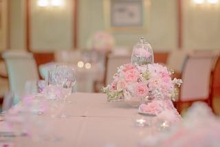 красива розова сватба, декорация на сватбена агенция Приказен ден, сватбен агент Мариела Уилсън
