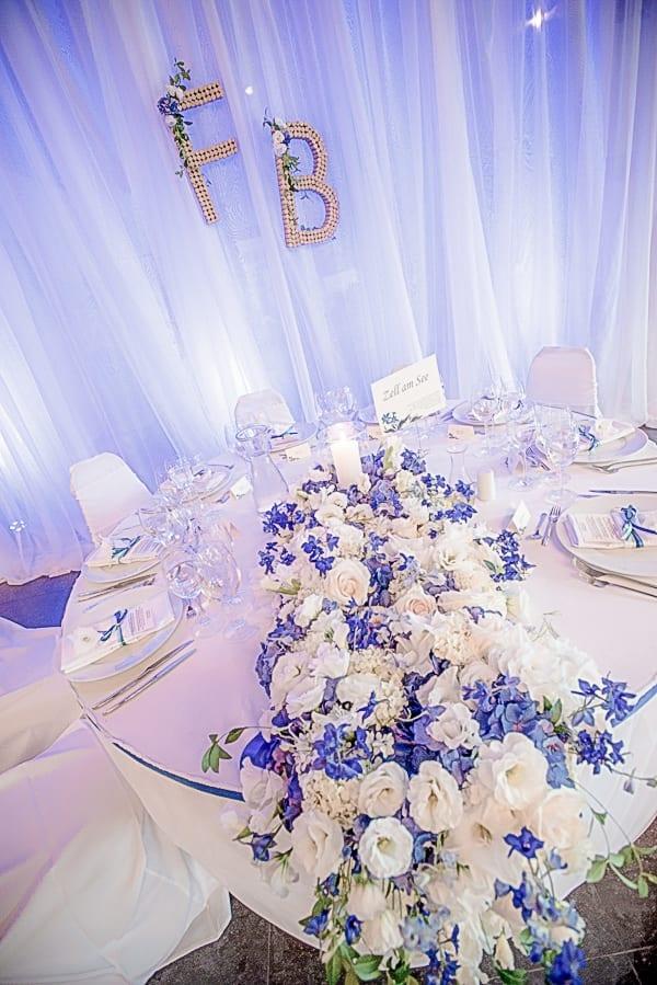 луксозна декорация за сватба на сватбена агенция Приказен ден, сватбен агент Мариела Уилсън