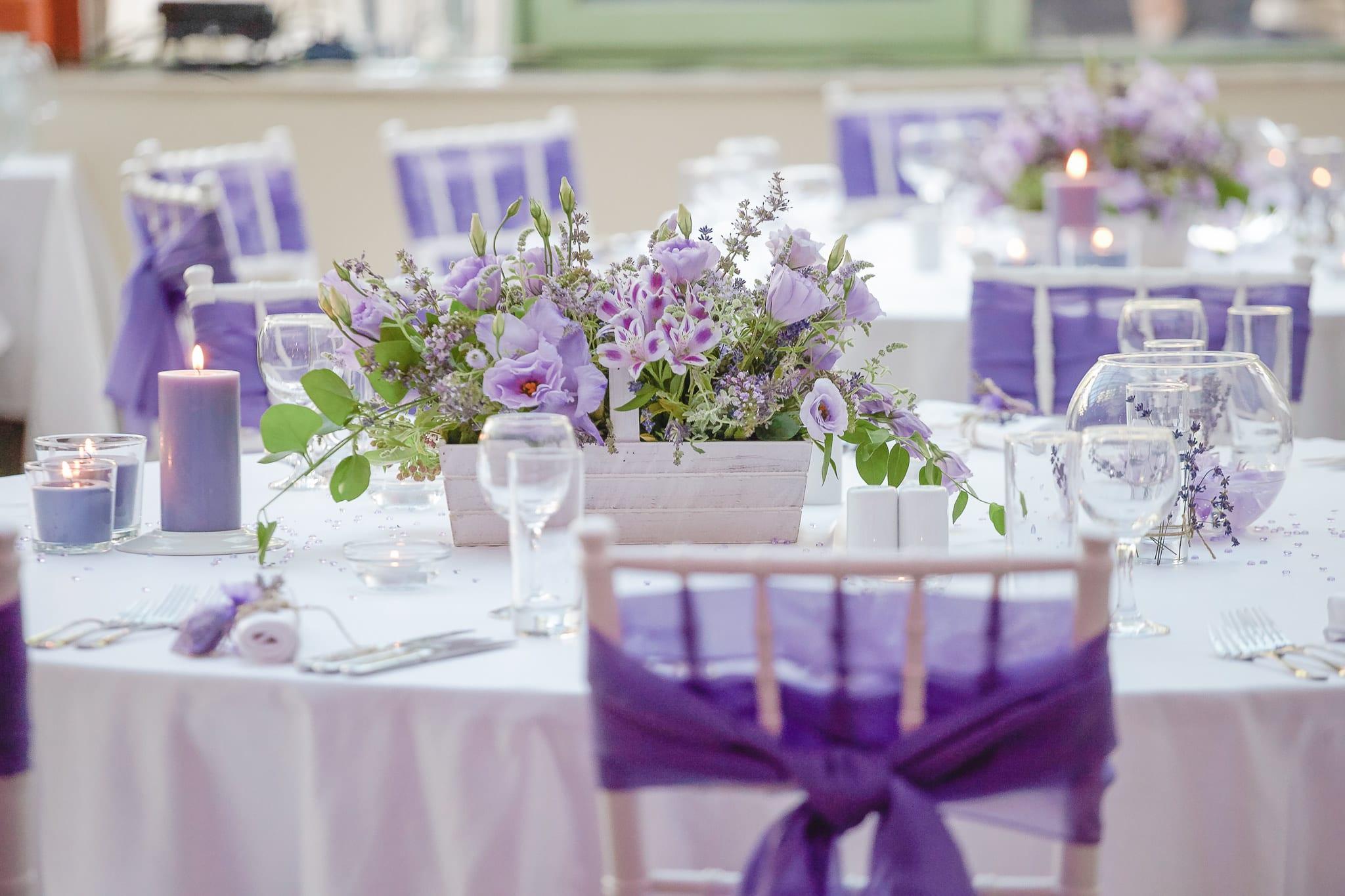 сватба в провански френски стил , лилава сватба, сватбена украса в лилаво, декорация на сватбена агенция Приказен ден, сватбен агент Мариела Уилсън