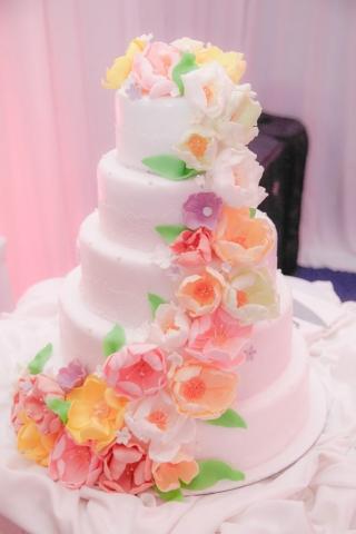 сватбена торта, декорация на сватбена агенция Приказен ден, сватбен агент Мариела Уилсън