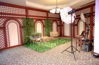 фото кът за сватба, декорация на сватбена агенция Приказен ден, сватбен агент Мариела Уилсън