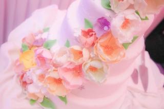 цветя на сватбена торта, захарни цветя за сватбена торта, декорация на сватбена агенция Приказен ден, сватбен агент Мариела Уилсън
