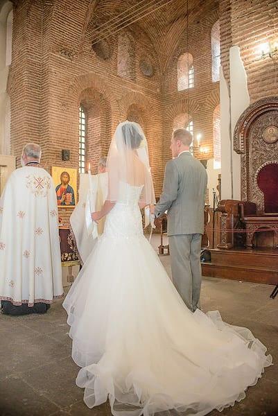 църковна сватбена церемония, декорация на сватбена агенция Приказен ден, сватбен агент Мариела Уилсън