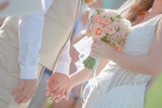 сватбена церемония в хотел Анел Созопол, декорация на сватбена агенция Приказен ден, сватбен агент Мариела Уилсън