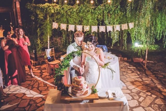 Разрязване на Сватбената торта