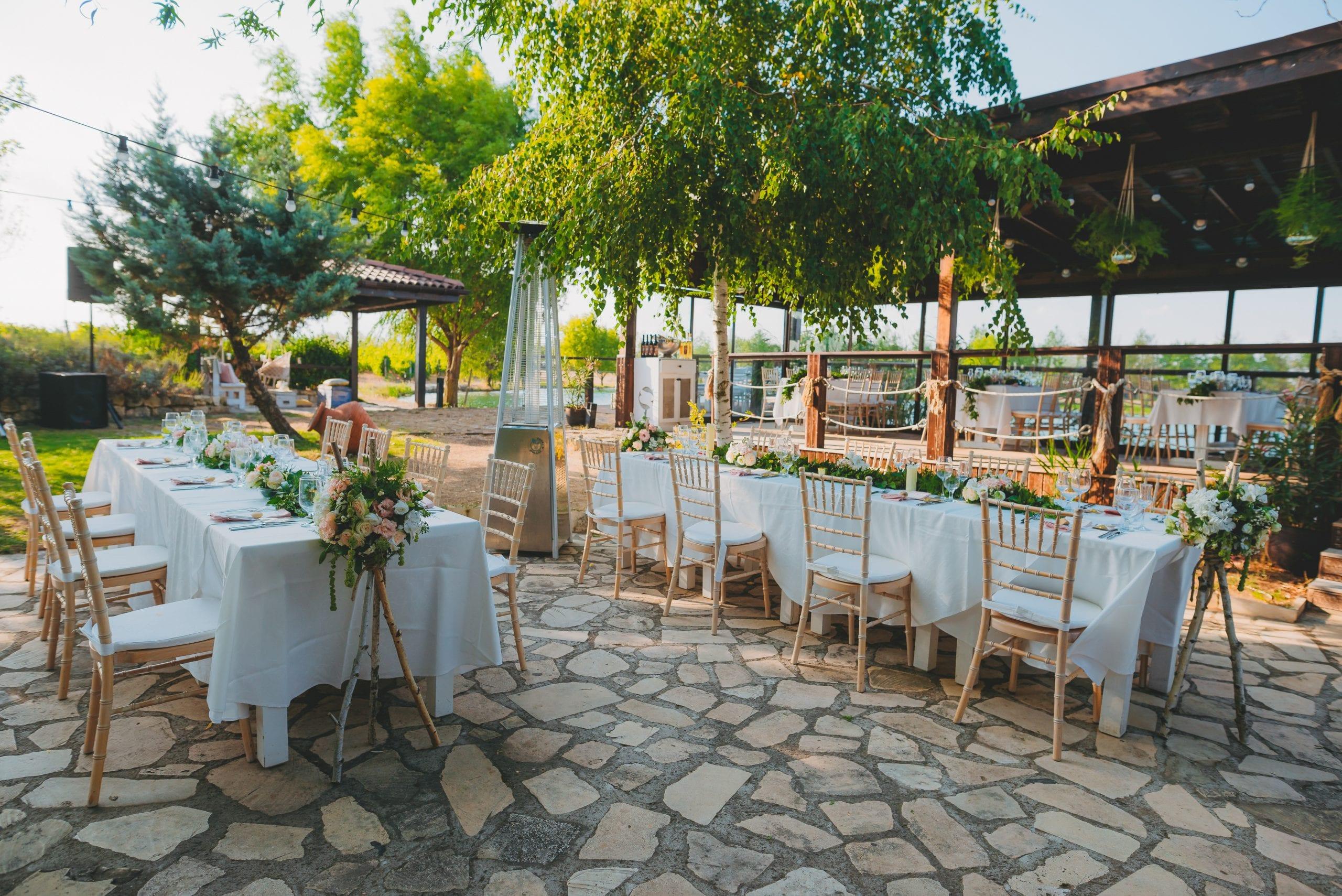 Бохемиан стил сватбена декорация