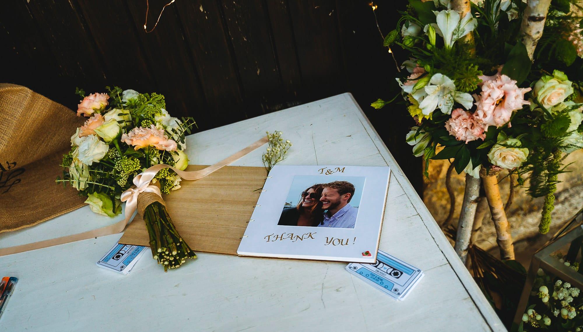Книга за сватбени пожелания
